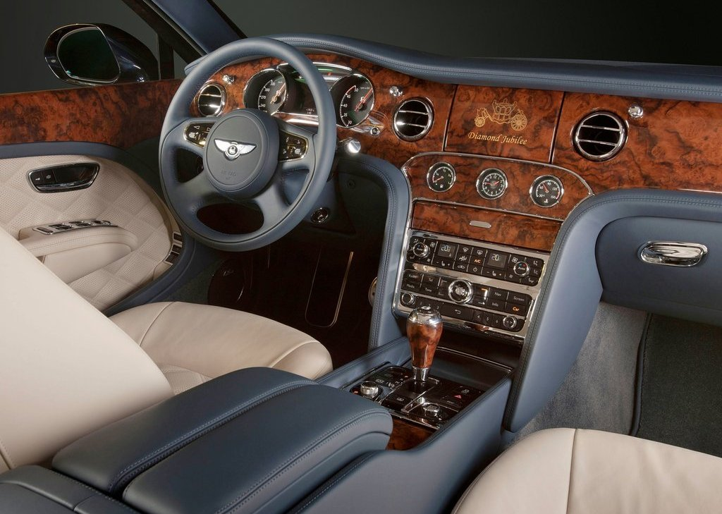 2012 Bentley Mulsanne Diamond Jubilee Interior (Photo 8 of 11)