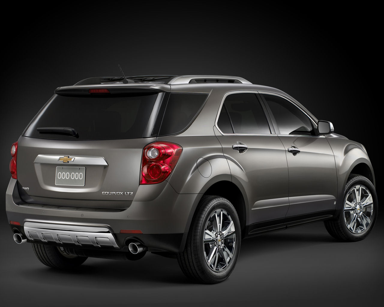 2012 Chevrolet Equinox Rear (View 4 of 6)