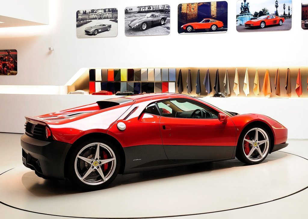 2012 Ferrari SP12 EC Side View (Photo 2 of 2)
