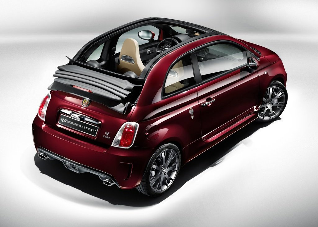 2012 Fiat 695 Abarth Maserati Edition Top View (Photo 5 of 6)