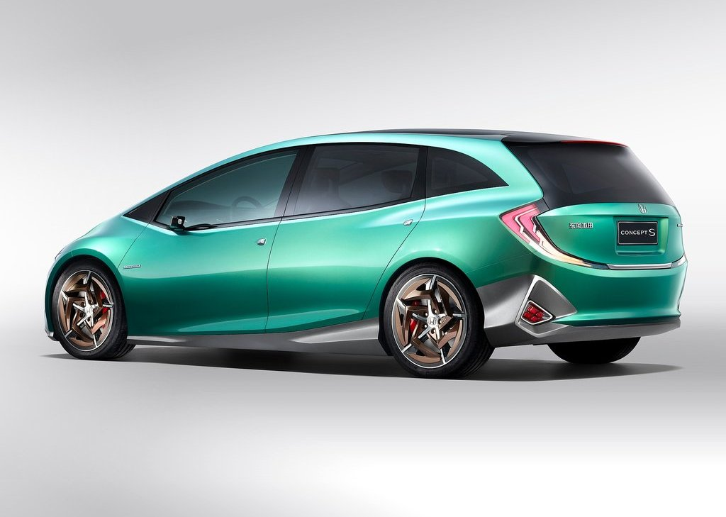 2012 Honda S Concept Rear (View 3 of 4)