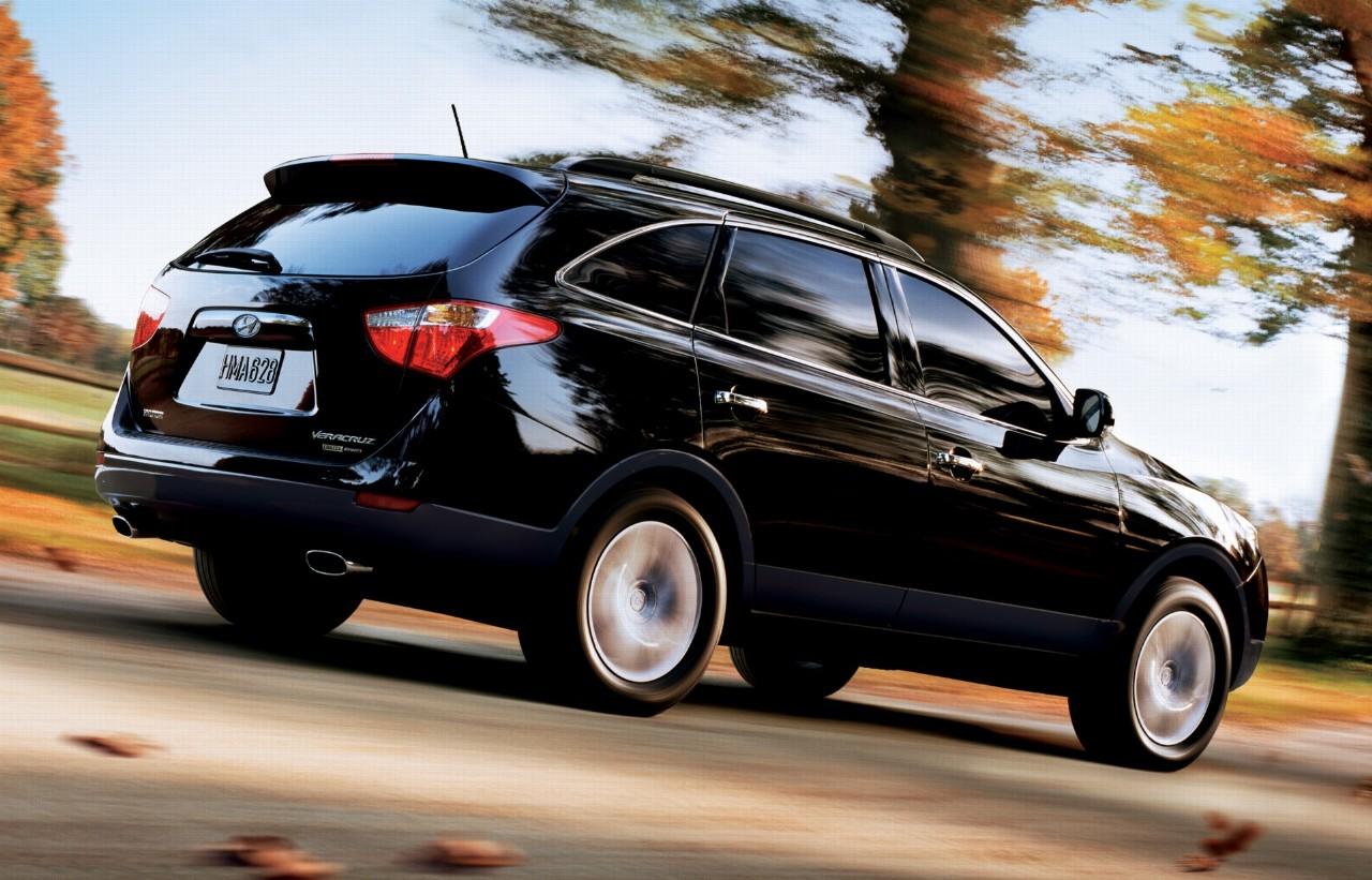 2012 Hyundai Veracruz Black (View 3 of 19)