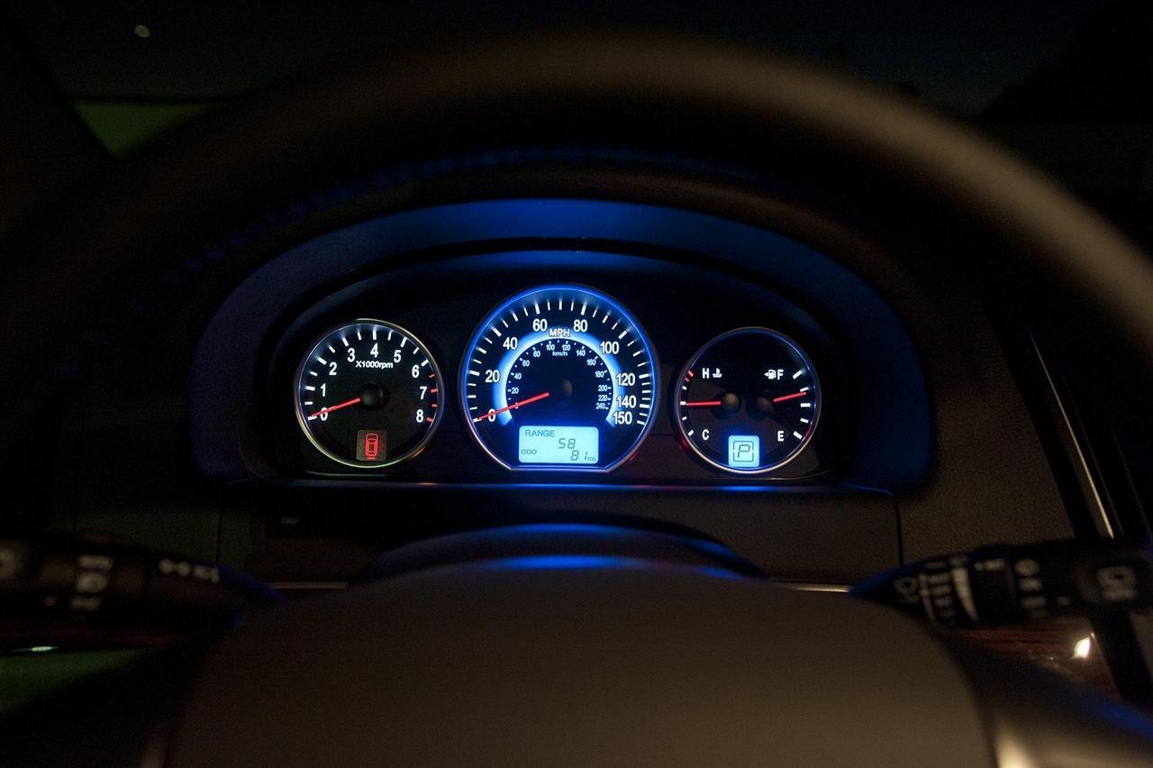 2012 Hyundai Veracruz Speedometer (View 15 of 19)