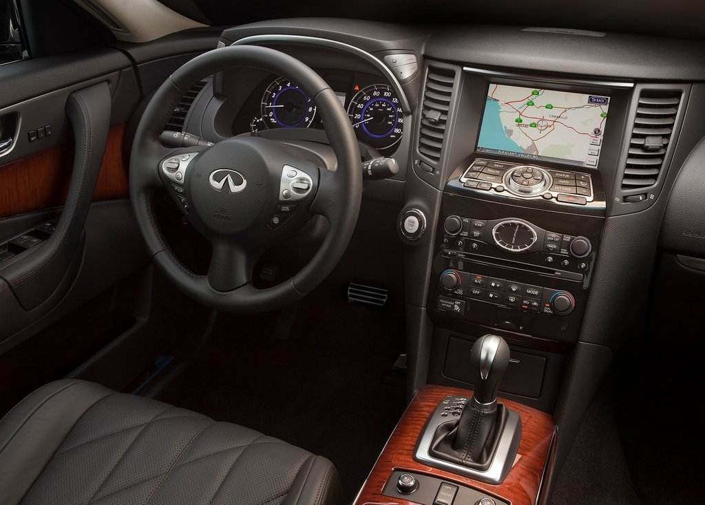 2012 Infiniti FX Interior (Photo 4 of 11)