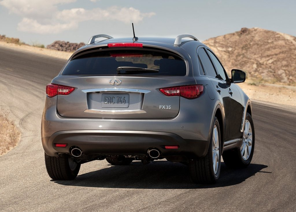 2012 Infiniti FX Rear (Photo 6 of 11)