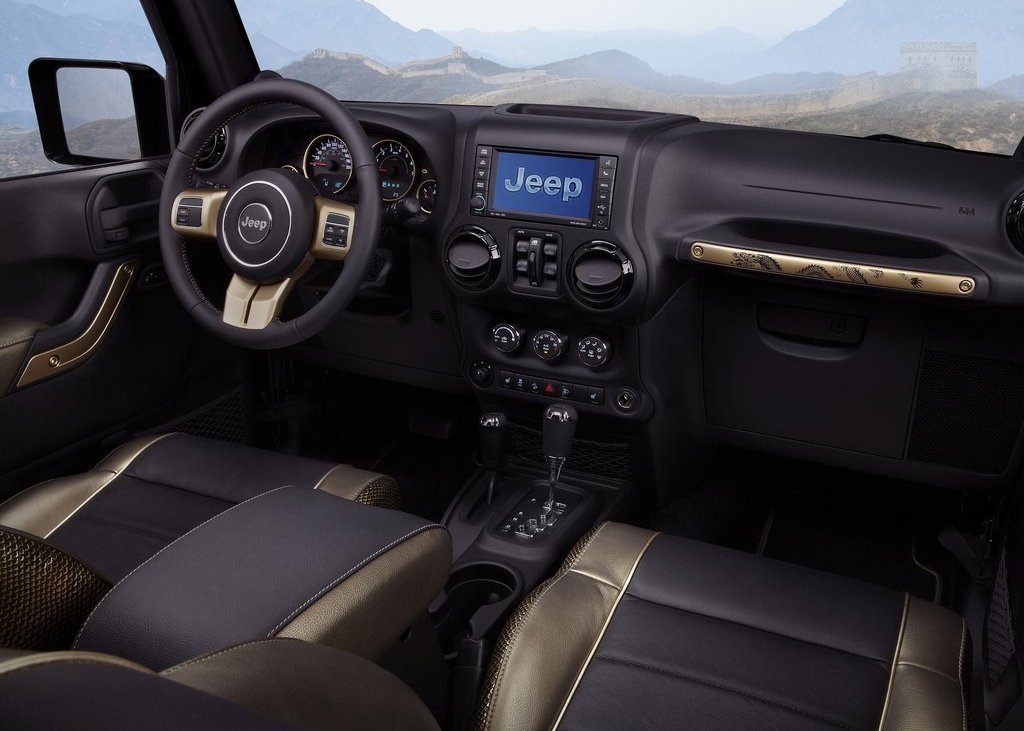 2012 Jeep Wrangler Dragon Interior (Photo 4 of 5)