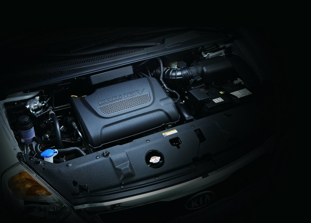 2012 Kia Grand VQ R Engine (View 2 of 6)
