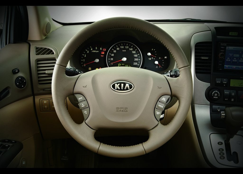 2012 Kia Grand VQ R Interior (View 3 of 6)