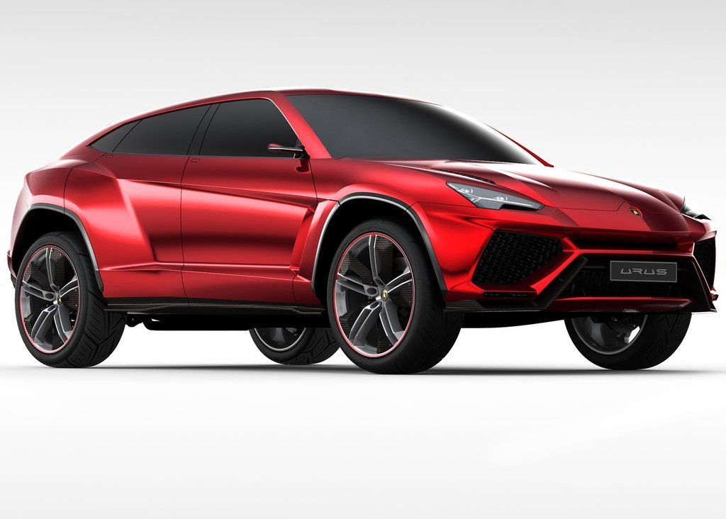 2012  Lamborghini Urus Front Angle (Photo 2 of 9)