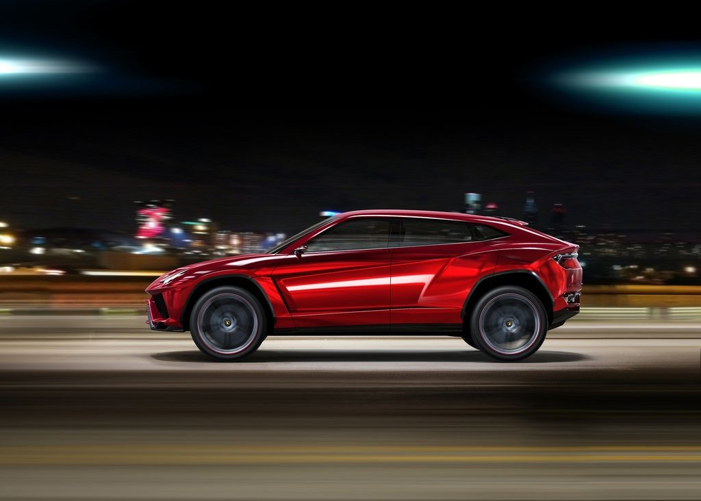 2012  Lamborghini Urus Left Side (Photo 5 of 9)