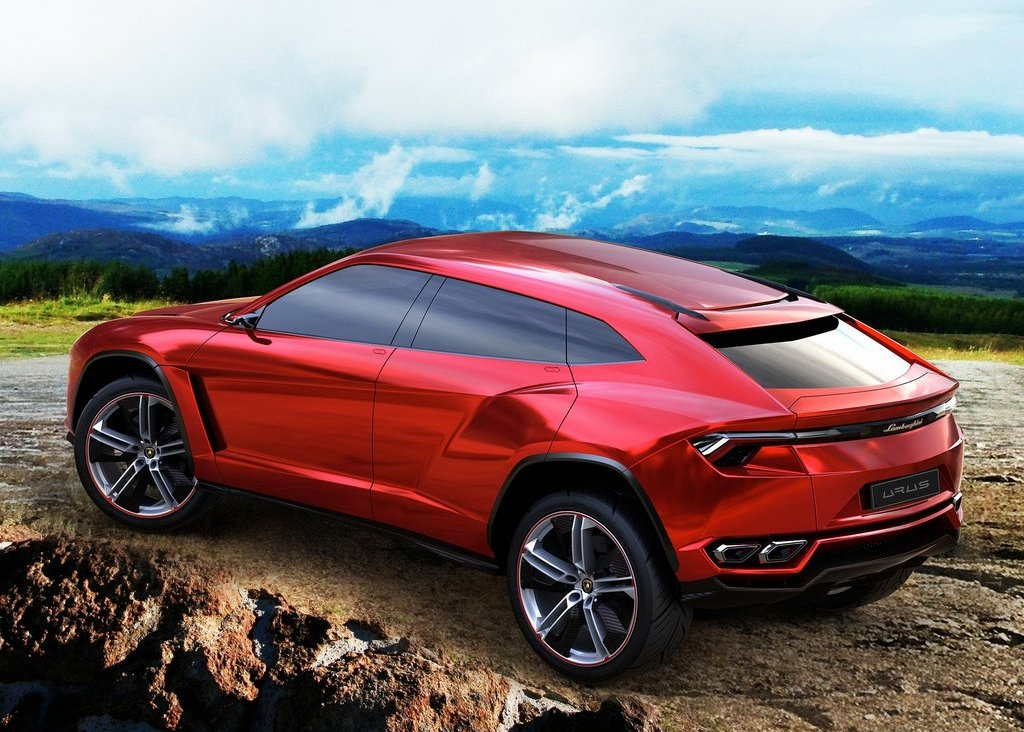 2012  Lamborghini Urus Rear Angle (Photo 6 of 9)