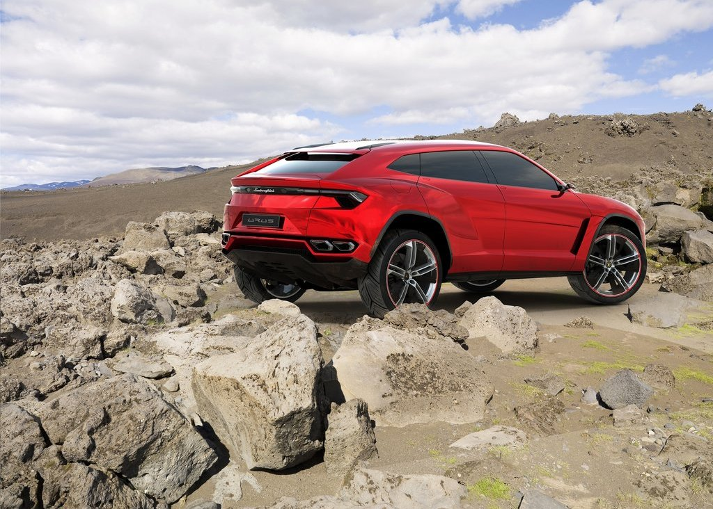 2012  Lamborghini Urus Rear View (Photo 7 of 9)
