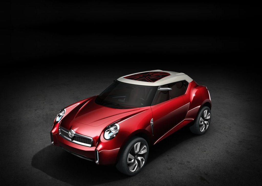 Featured Image of 2012 MG Icon Concept At Beijing Motor Show