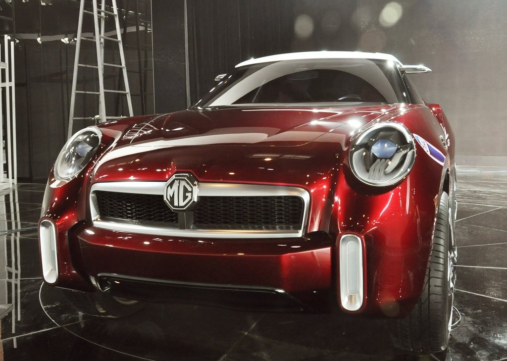 2012 MG Icon Concept Front (Photo 2 of 8)