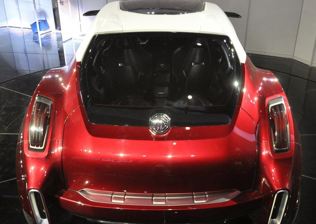 2012 MG Icon Concept Rear View (Photo 6 of 8)