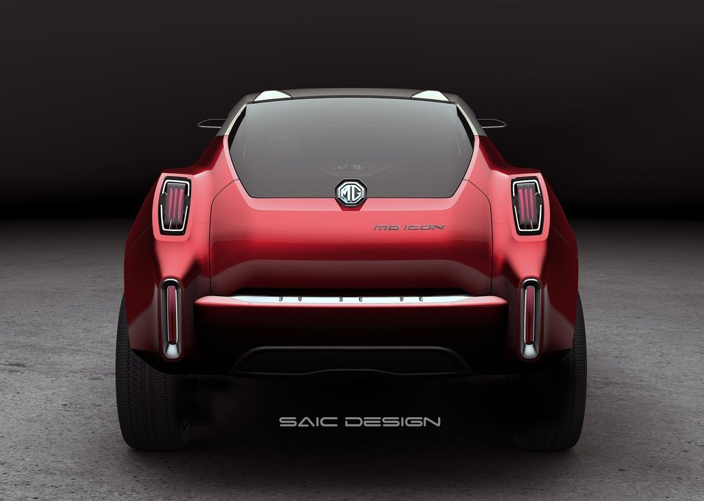 2012 MG Icon Concept Rear (View 4 of 8)