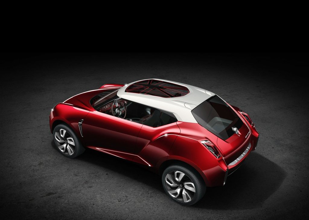 2012 MG Icon Concept Top View (View 5 of 8)