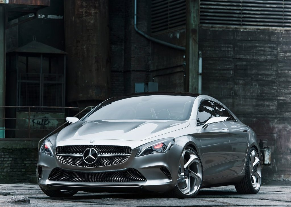 2012 Mercedes Benz Style Coupe Front Angle (View 5 of 15)