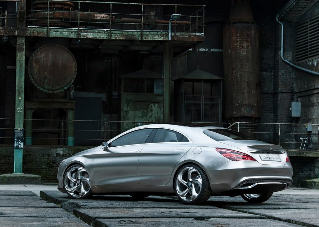 2012 Mercedes Benz Style Coupe Rear Angle (View 11 of 15)