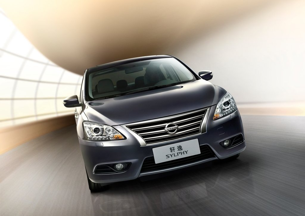 2012 Nissan Sylphy Front View (Photo 4 of 8)