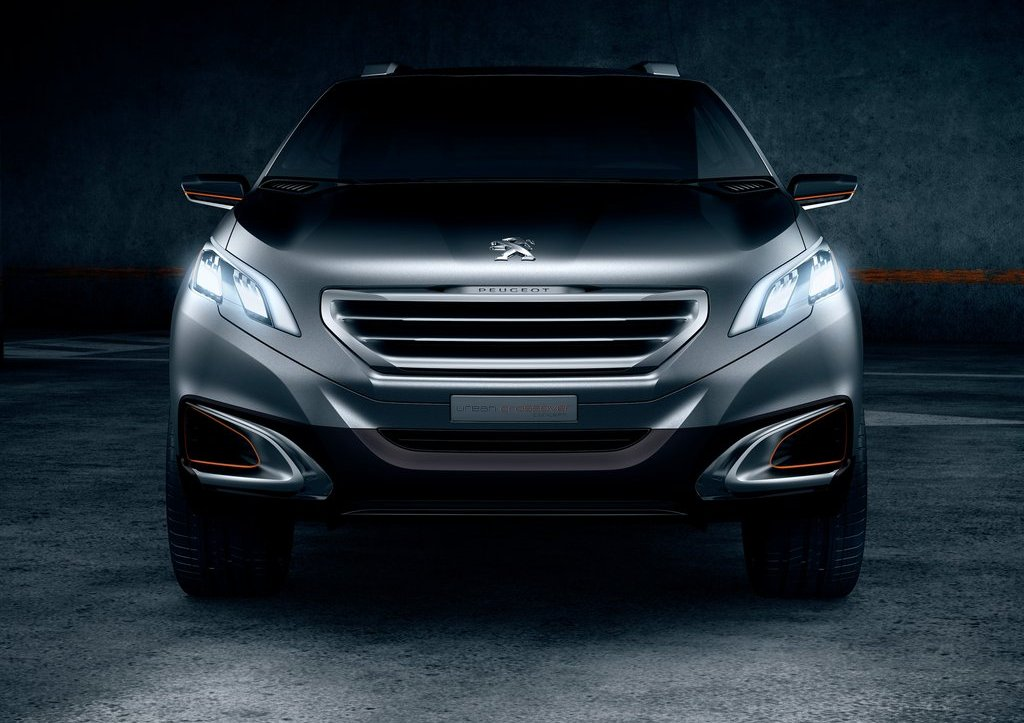 2012 Peugeot Urban Crossover Front (Photo 3 of 8)