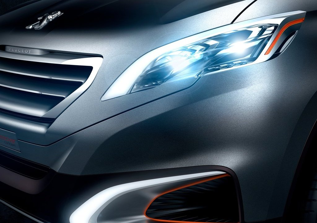 2012 Peugeot Urban Crossover Head Lamp (Photo 5 of 8)