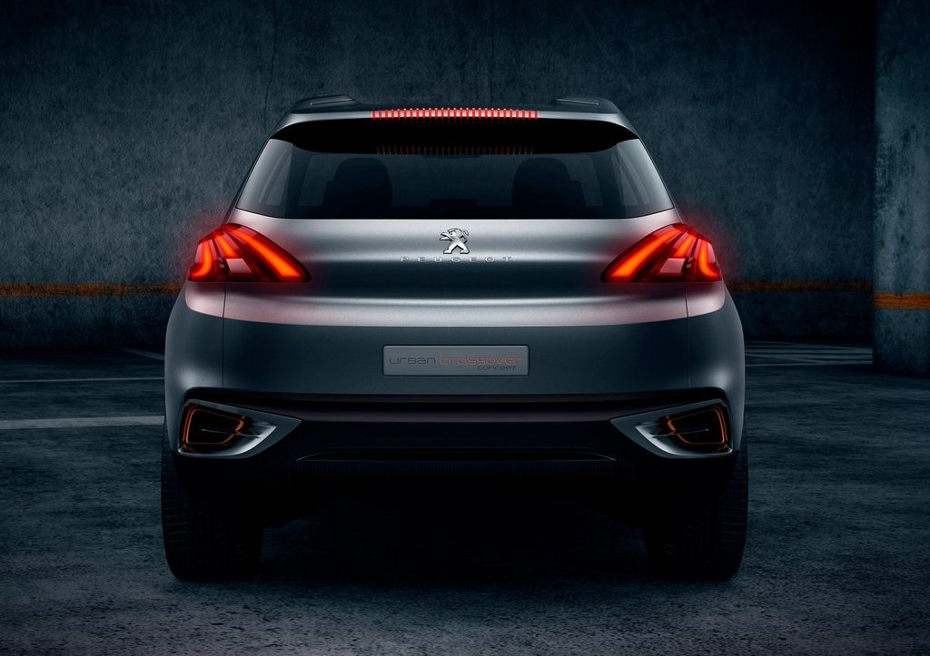 2012 Peugeot Urban Crossover Rear View (Photo 7 of 8)