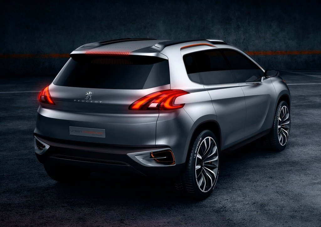2012 Peugeot Urban Crossover Rear (Photo 6 of 8)