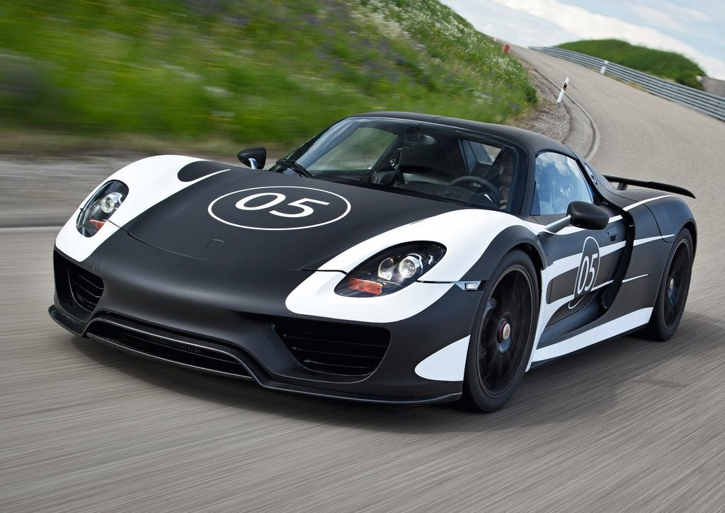 2012 Porsche 918 Spyder Prototype (Photo 1 of 6)