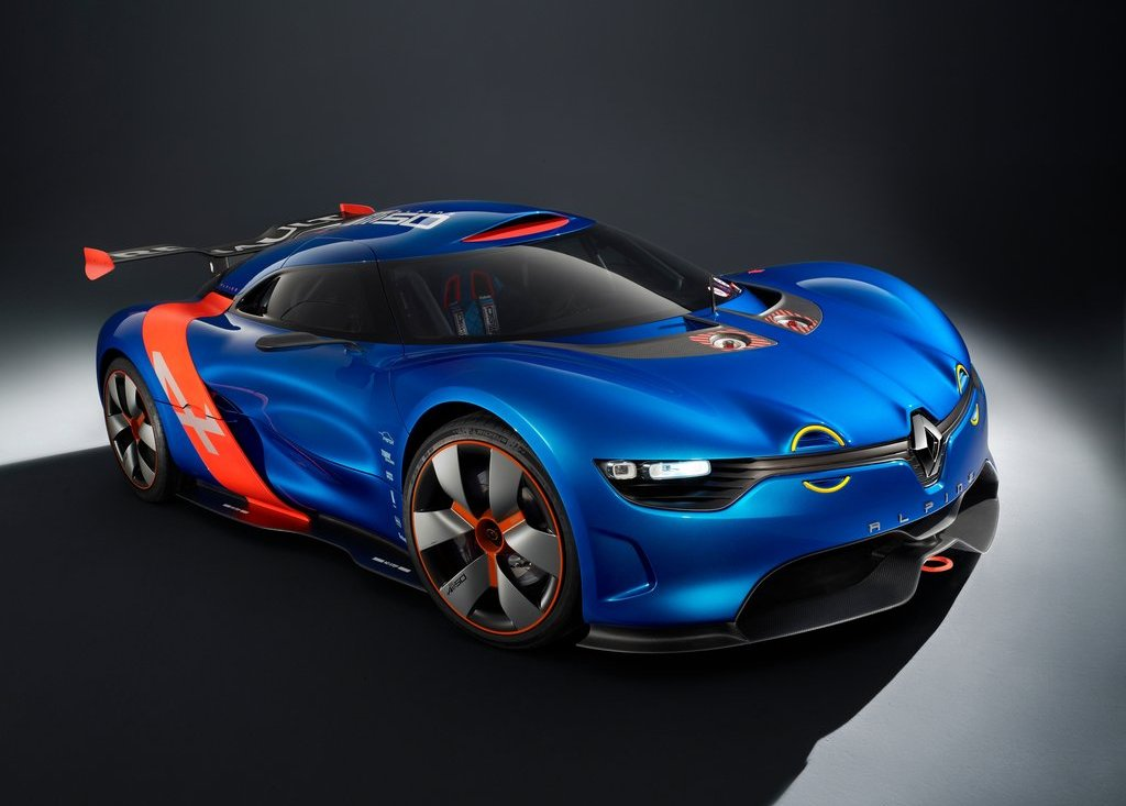 2012 Renault Alpine A 110 50 Front Angle (Photo 9 of 16)
