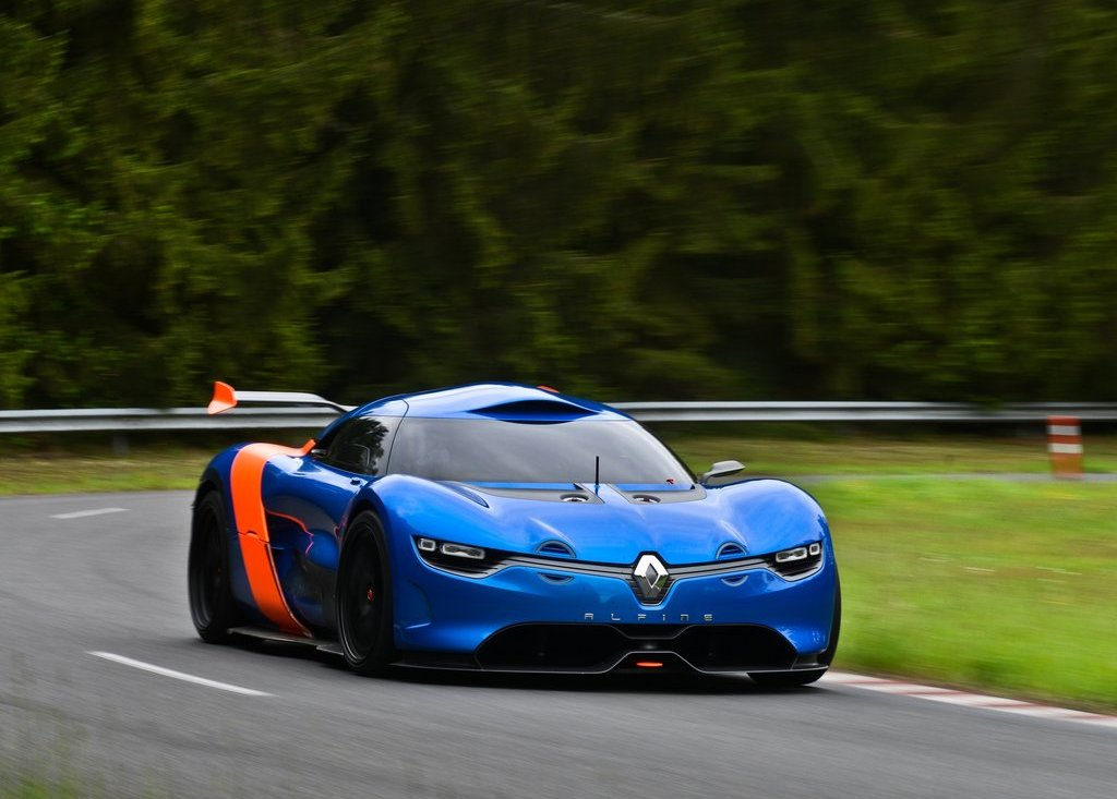 2012 Renault Alpine A 110 50 Front View (Photo 10 of 16)