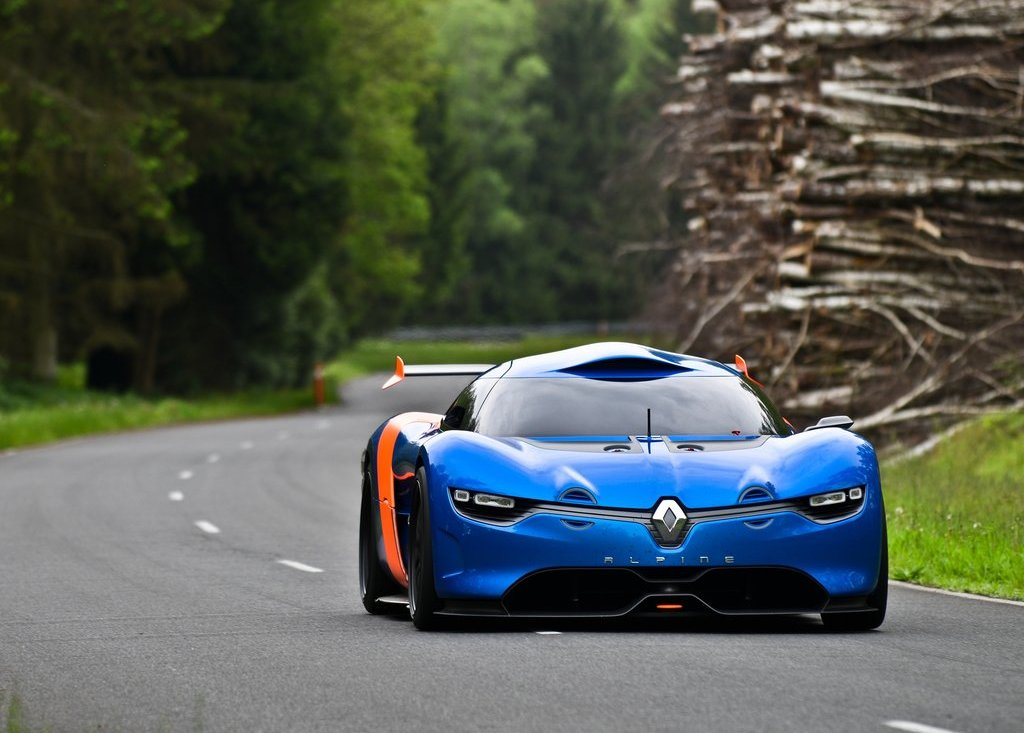 2012 Renault Alpine A 110 50 Front (View 8 of 16)
