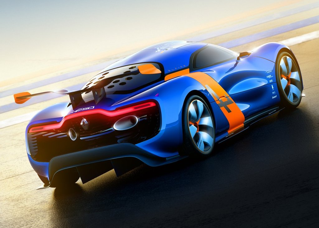 2012 Renault Alpine A 110 50 Rear Angle (View 11 of 16)