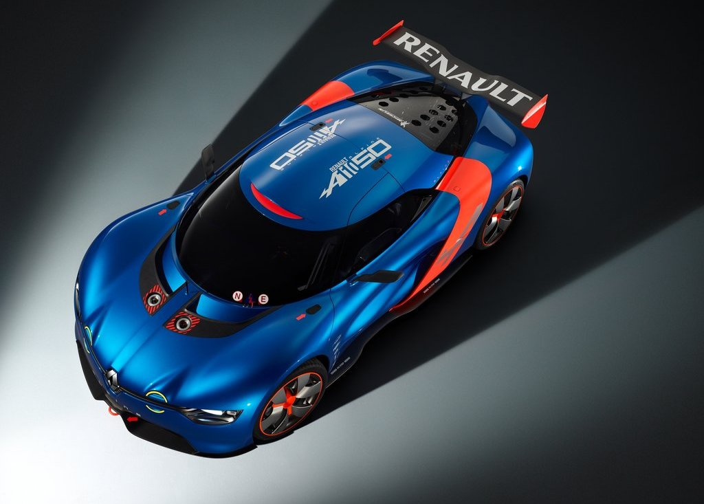 2012 Renault Alpine A 110 50 Top View (Photo 16 of 16)