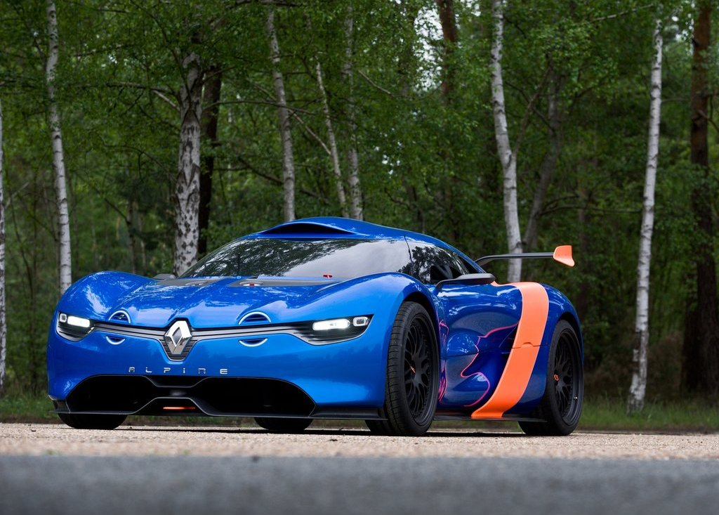 Featured Image of 2012 Renault Alpine A 110 50 Carbon Fiber Bodywork