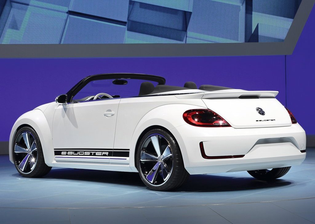 2012 Volkswagen E Bugster Speedster Rear (Photo 3 of 7)
