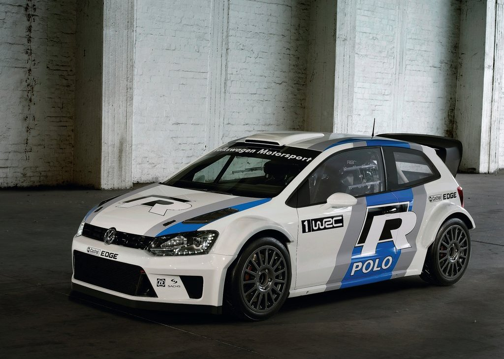 2012 Volkswagen Polo R WRC Concept Front View (Photo 4 of 8)