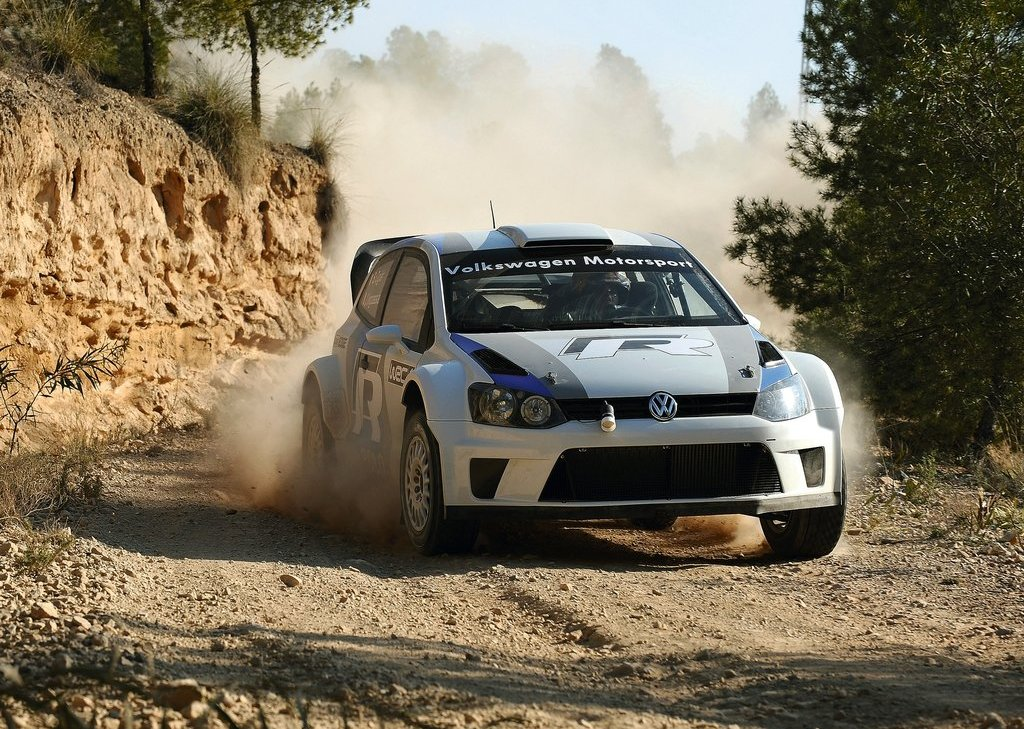 2012 Volkswagen Polo R WRC Concept Front (Photo 2 of 8)