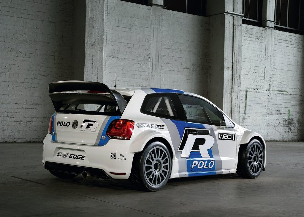 2012 Volkswagen Polo R WRC Concept Rear Angle (Photo 5 of 8)
