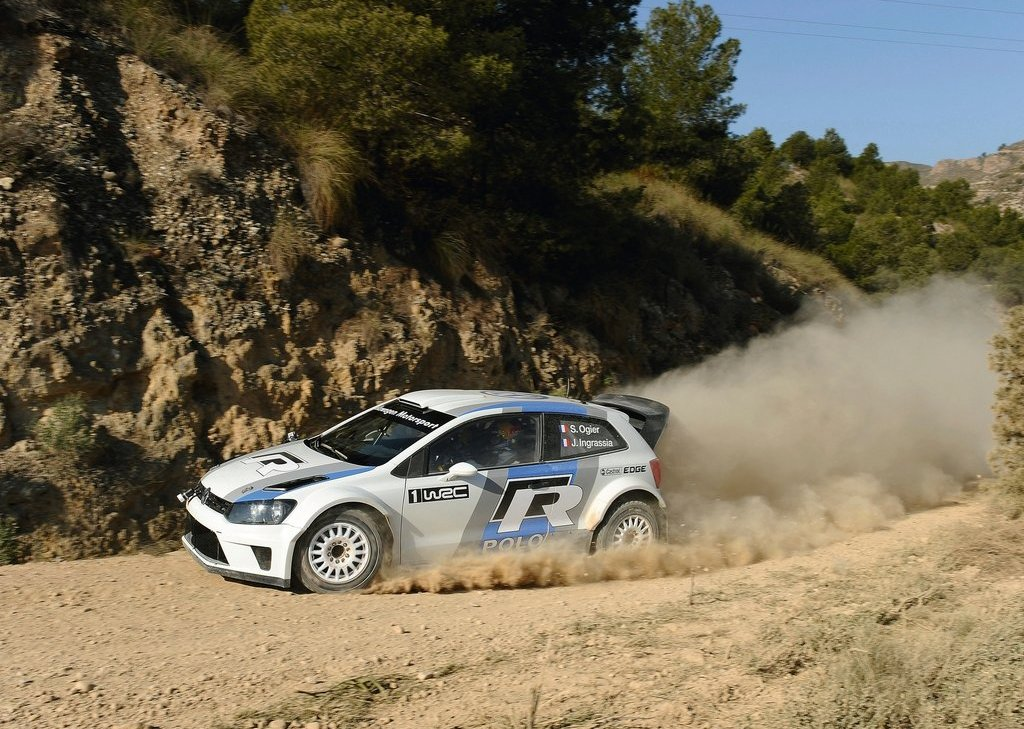 2012 Volkswagen Polo R WRC Concept Side View (Photo 7 of 8)