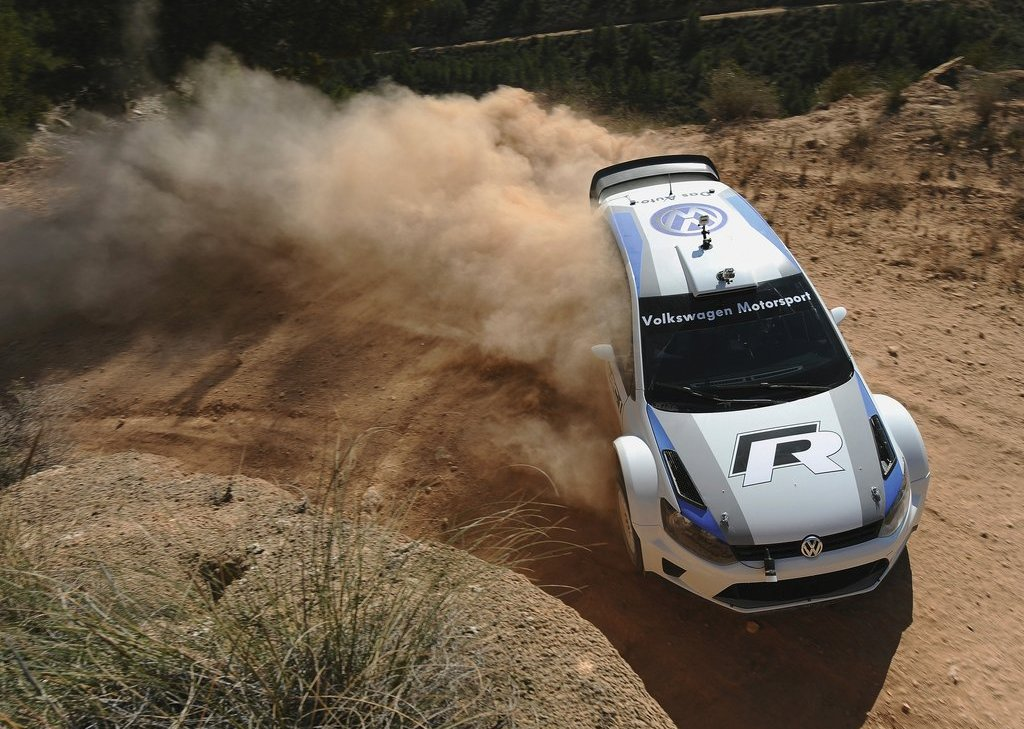 2012 Volkswagen Polo R WRC Concept Top View (View 7 of 8)