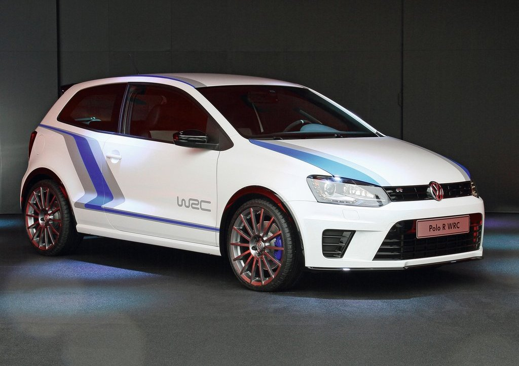 2012 Volkswagen Polo R WRC Street Concept Front Angle (View 4 of 6)