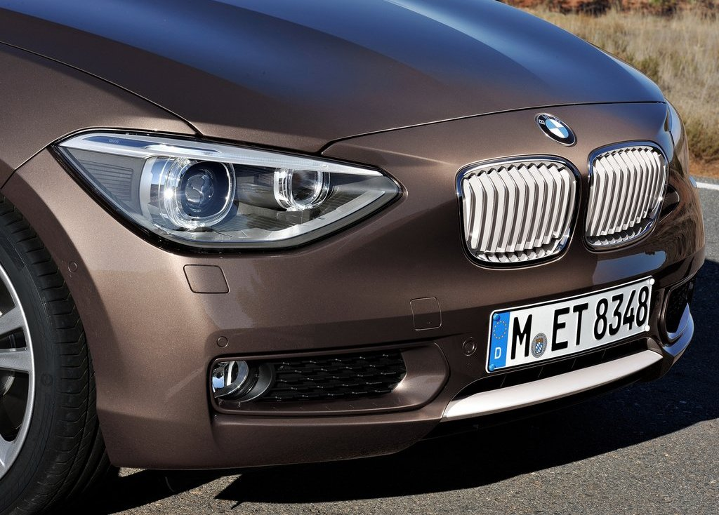 2013 BMW 1 Series 3 Door Front View (Photo 3 of 7)