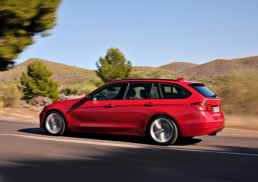 2013 BMW 3 Series Touring Left Side (Photo 7 of 13)