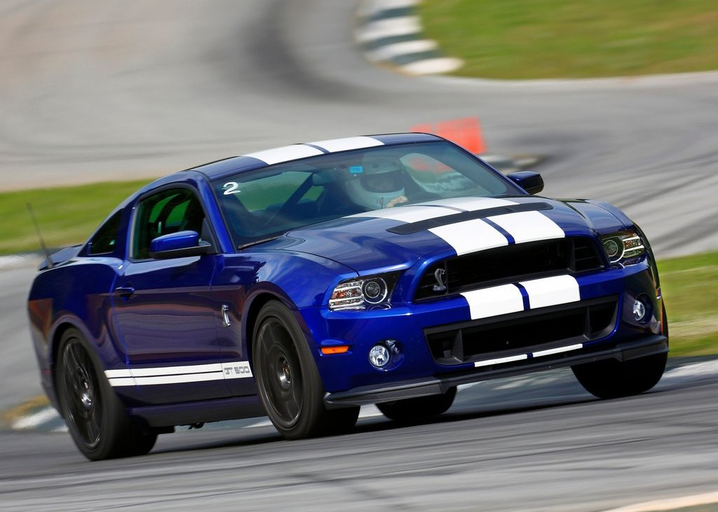 2013 Ford Mustang Shelby GT500 Front Angle (View 15 of 27)