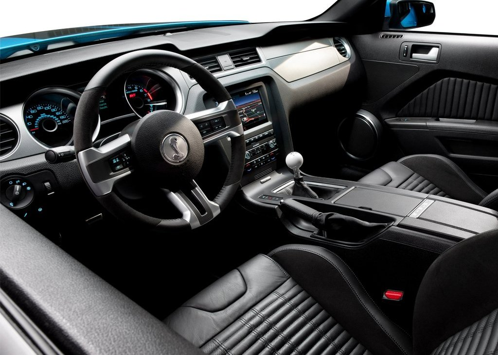 2013 Ford Mustang Shelby GT500 Interior (View 21 of 27)