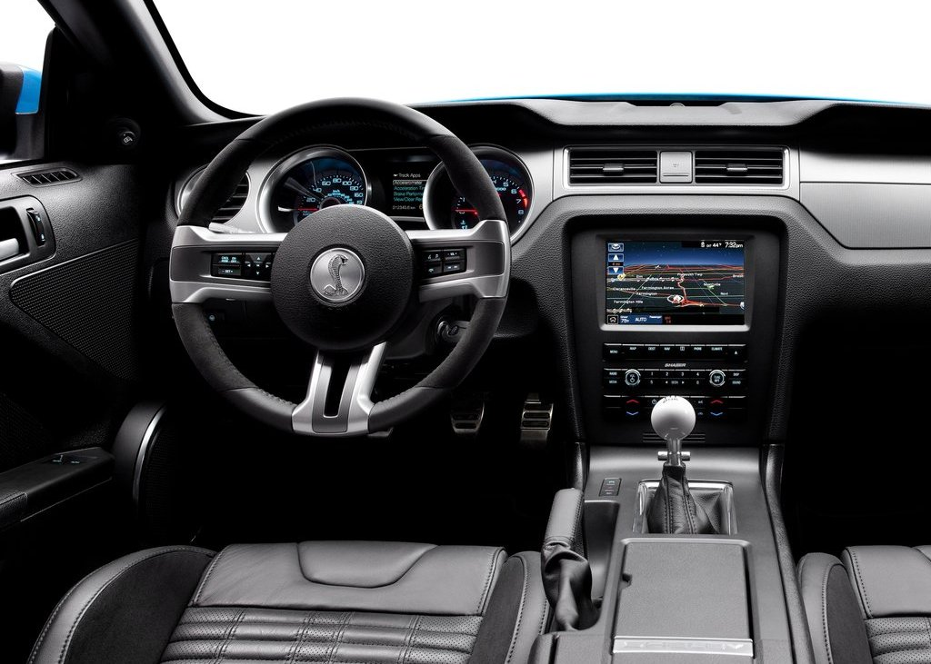 2013 Ford Mustang Shelby GT500 Interior (View 22 of 27)