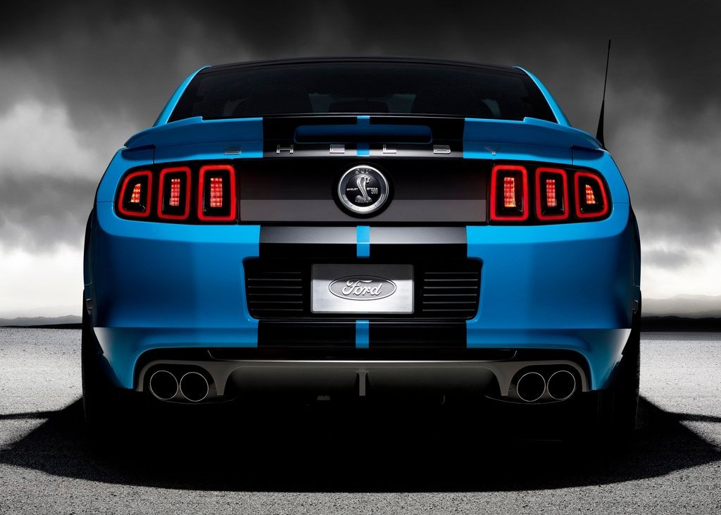 2013 Ford Mustang Shelby GT500 Rear (Photo 16 of 27)