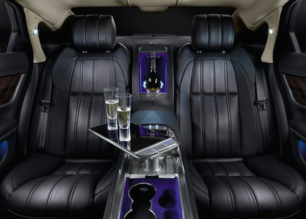 2013 Jaguar XJ Ultimate Back Seat (Photo 2 of 13)