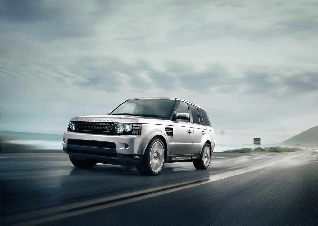 2013 Land Rover Range Rover Sport Front View (Photo 3 of 9)